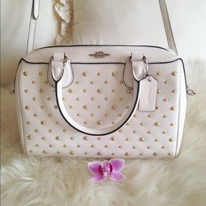 Beautiful Coach Crossbody Bag With Studs